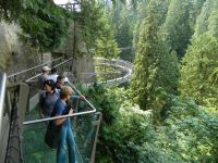 Historic Capilano CLIFFWALK in Vancouver