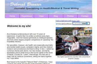 Deborah Brauser website