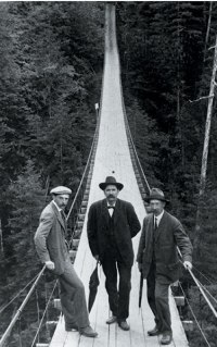 Historic Capilano Suspension Bridge in Vancouver