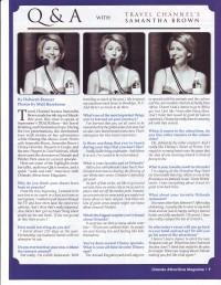 Samantha Brown interview
