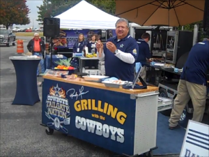 Dallas Cowboys Grill Team at Bacon Bowl 2013