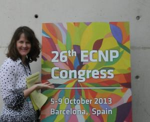 ECNP 2013 in Barcelona, Spain