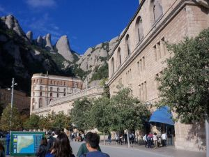 Montserrat, outside of Barcelona, Spain