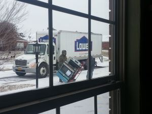 Lowes delivers GE oven